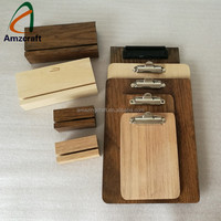 Wholesale Custom Wooden Clipboards Menu Holders