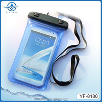 New design factory price waterproof bag with bubble for All 5-5.8inch screen phones
