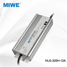 CE ROHS approved adjustable 320W 12V waterproof led driver 22A HLG-320H-12A