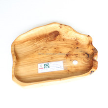 natural bamboo hand curved wood gift craft