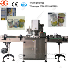 Automatic Milk powder Tin can sealing machine Can sealer for Tin can