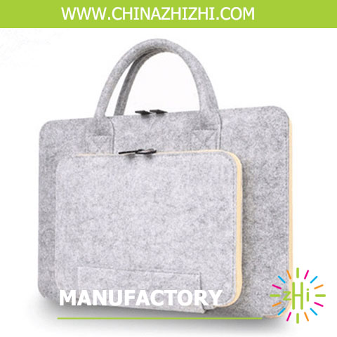 "13.3"" Polyester Felt Fashion Laptop Bag/Notebook Bag"