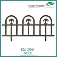 KD1105S plastic fence/ Garden Accessories, Plastic barrier for the garden