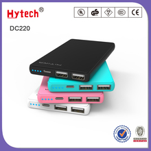 DC220 Double USB output traveling mobile power bank 5000mAh backup battery