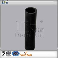 Colored natural rubber roller for printing and dyeing industry