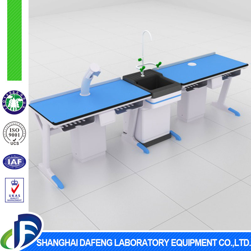 2017 new university equipment not deformed lab table with lab sink