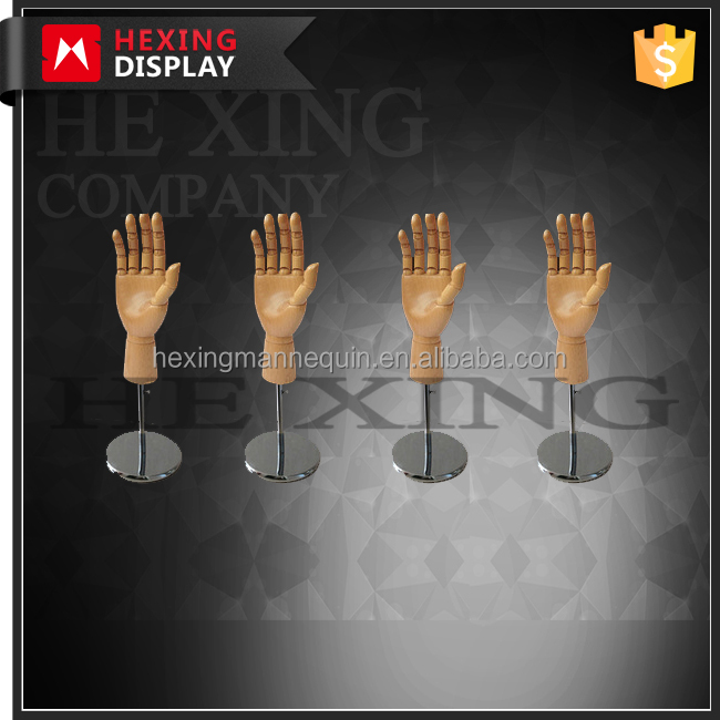 articulated wood praying hands mannequin