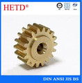 Brass/bronze machined power transmission spur gear made in China spur gear