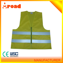 ANSI Class 2 reflective Vest, Velcro Closure, Lime with Silver