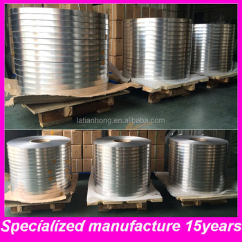 AL+PE film aluminium foil tape for optical cable