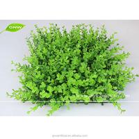 GNW BOX014-4 artificial boxwood mat for vertical green wall decoration grass panel on sale