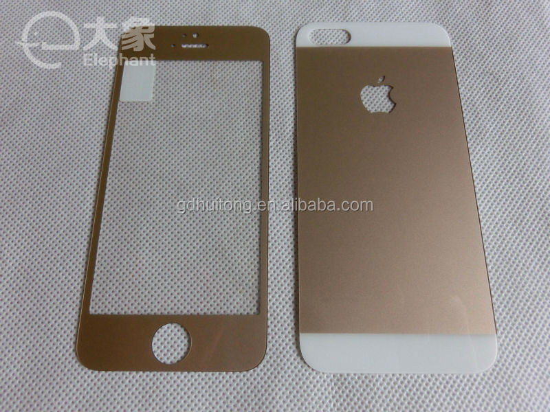 colourful tempered glass screen guard ,customize drawing design , round edge, Welcome OEM & ODM