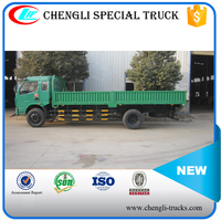 DONGFENG 160hp 4*2 8ton 8000kg RHD Cargo Truck Dry Box Truck