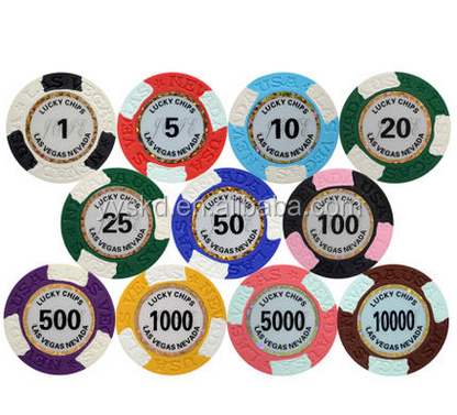 Hot Selling Custom Logo Poker Chips Promotional Custom Poker Chip