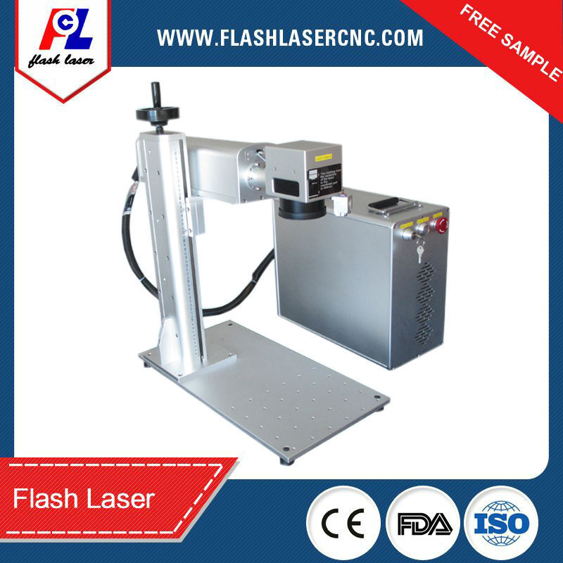 small size portable fiber laser metal/aluminum marking machine