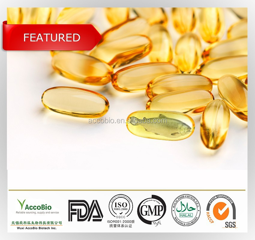Non GMO Dietary Supplement Pure Fish Oil
