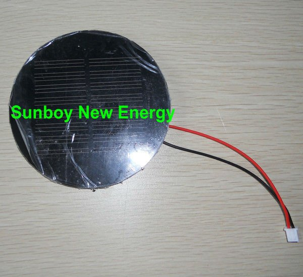 Round Shape PET Laminated Small Solar Module