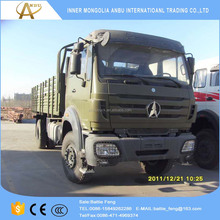 All wheel drive NG80 BeiBen military 4x4 6x6 truck