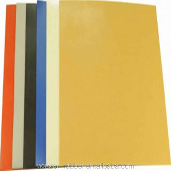 2mm thickness Silicone Rubber Sheet for oil resistant industry