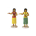 custom make your own plastic hula girl figurine