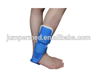 Medical fracture foot splint Orthopedic Rehabilization Foam Plastic Ankle Stirrup Brace Support