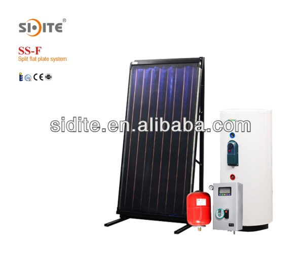 Solar Keymark Flat Plate Solar Collector 100-360L Separate Pressurized Solar Water Heater System