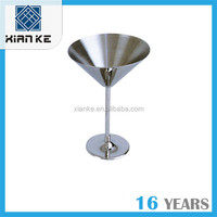 10oz Luxury Stainless Steel martini glass