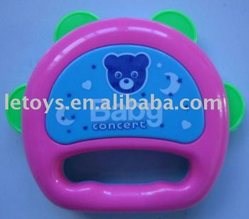 plastic timbrel toys for children