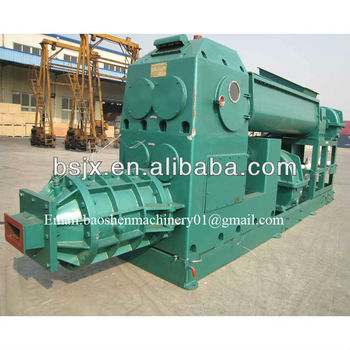 Best clay brick making Extruder mud brick machinery