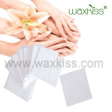 Nail spunlace nonwoven wipe for nail gel remove