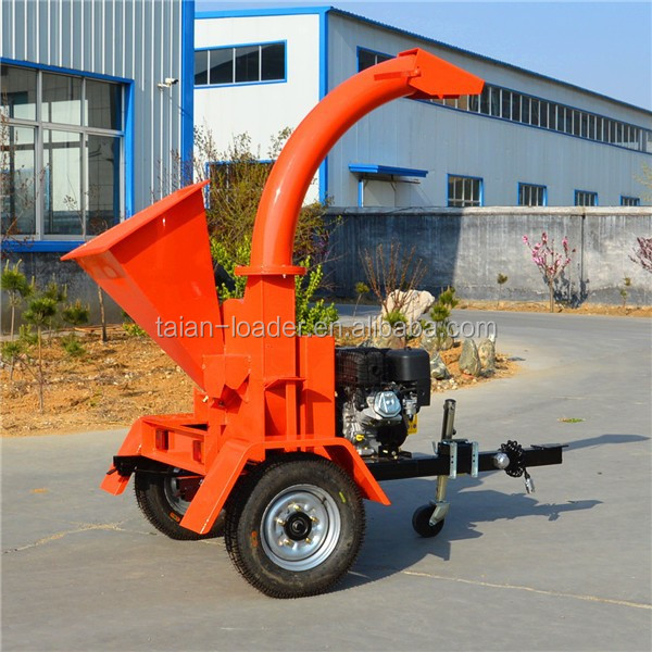 High quality Industrial wood chipper forestry machine for log wood