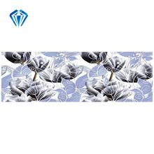 flower pattern super polished porcelain ceramic wall tile