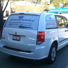 car wrap view thru perforated vinyl graphics window film clear perforated vinyl sticker