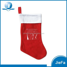 2016 Wholesale customized christmas stocking decorations