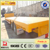 3 Axle 20ft Flatbed Container Transport