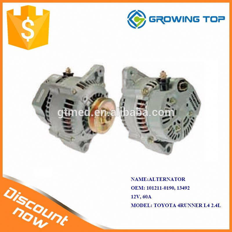 Manufacturer Supply 101211-0190 / 13492 Car Alternator Price for toyota