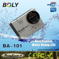 2 inch full HD 1080p Wifi gopros 4 black edition action camera with silver color option