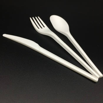 100% Compostable PLA Biodegradable Disposable Cutlery