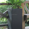 FO 9405 Tall Square Synthetic Rattan