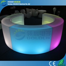 LED Party Portable Cocktail Counter Table / Illuminated Lighting Bar Furniture