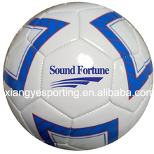 high foam PVC leather size 5 soccer ball/football in 2017