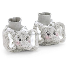 ICTI Standard Fluffy Animal Kids Shoes Slippers Boots Fashion Newborn Soft Sole Plush Elephant Infant Baby Sock Shoes