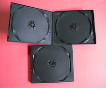 black double/single half dvd case 10mm
