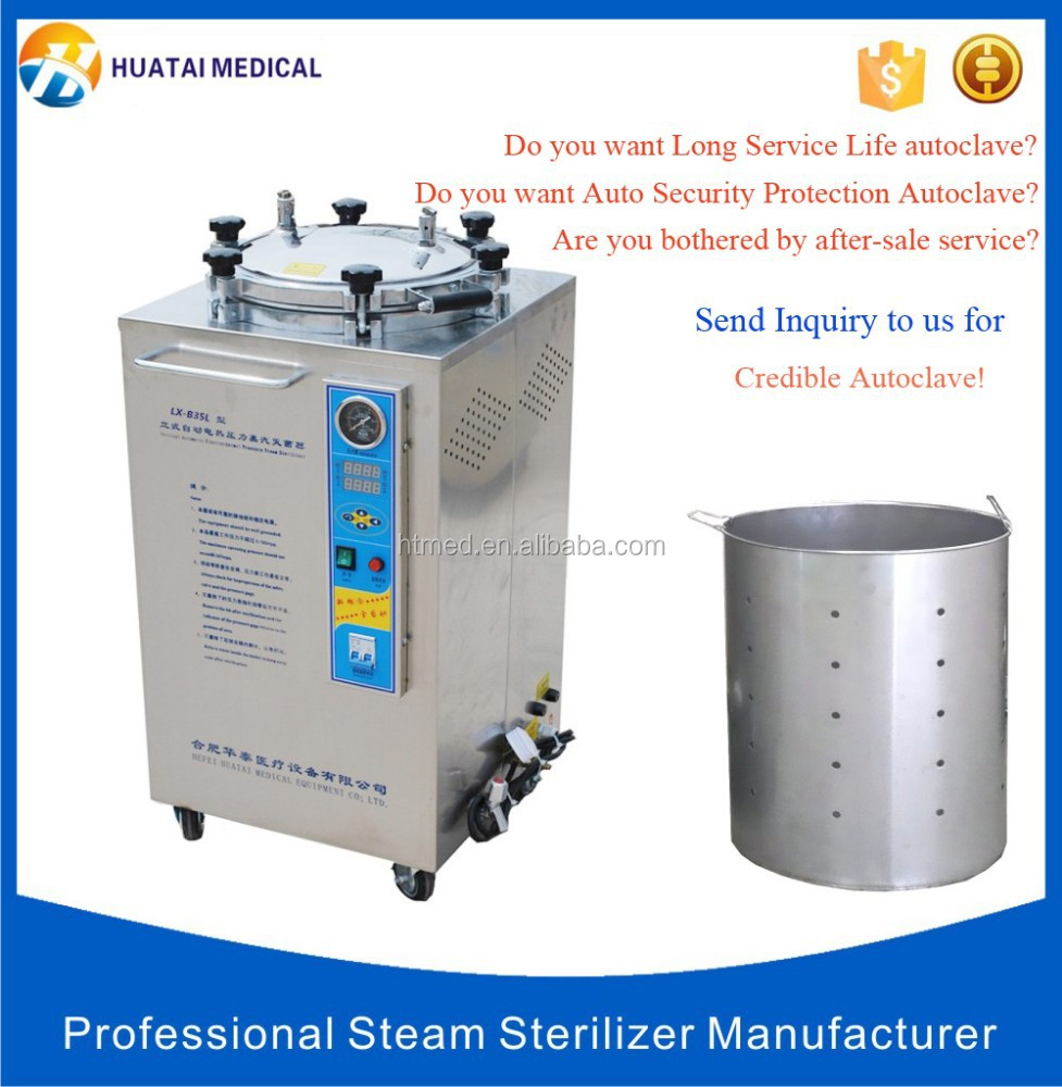 Digital Food Industrial Processing Sterilizer Small Autoclave Machine