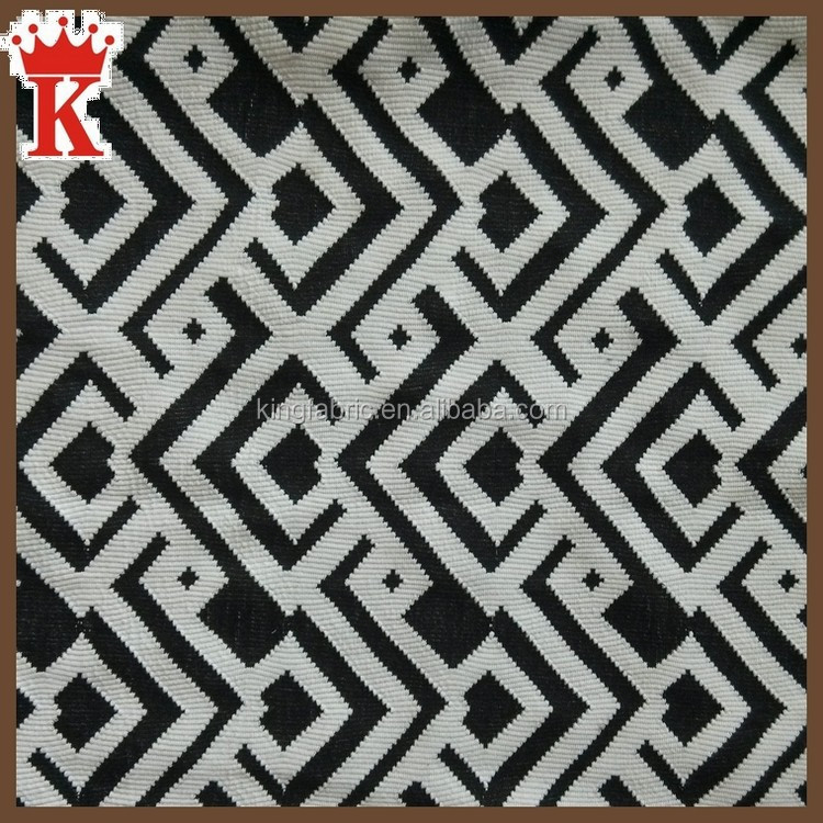 china supplier wholesale polyester jacquard knit fabric for latest dress designs