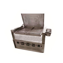 Industrial electric chicken grill with perfect flame oven