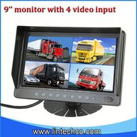 2013 Lowest price Chinese factoy 9 inch used car lcd monitor for truck