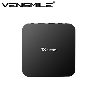 Vensmile NEW Product TX3 PRO Android 6.0 S905X Quad core 64Bit TV BOX 1gb 8gb Amlogic S905X Android 6.0 tv box