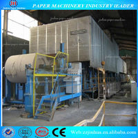2100 double-cylinder and three-meshwork kraft paper machine grey board making