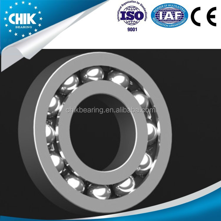Mechanical parts & fabrication services deep groove ball bearing with extended inner ring
